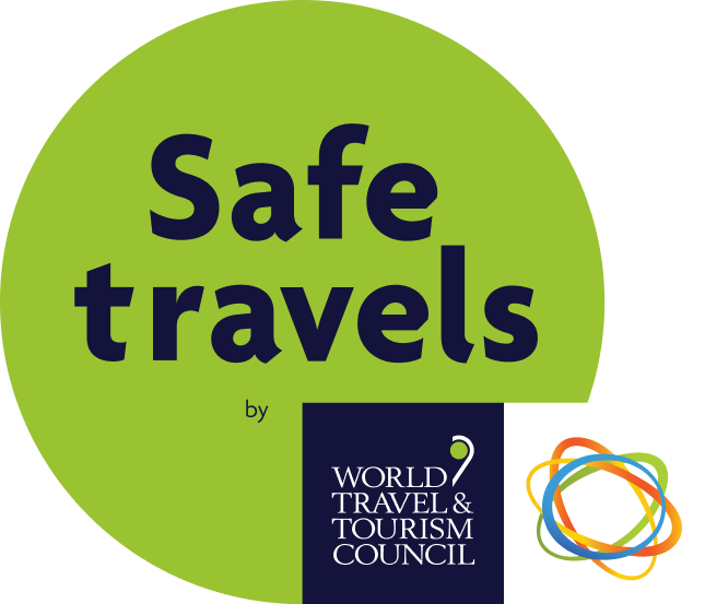 Safe travels by World Travel & Tourism Council